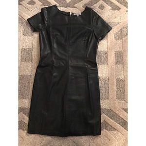BB Dakota Dresses - BB Dakota Leather Dress
